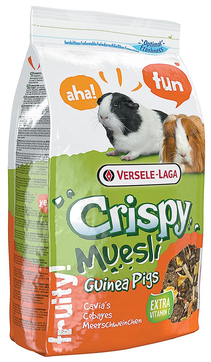 Versele-laga Crispy Muesli Guinea Pigs корм для морских свинок с витамином (1 кг)