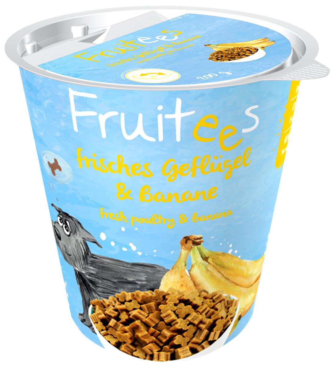 Лакомство Bosch Fruitees полувлажное для собак с птицей и бананом 200 гр (1 шт)
