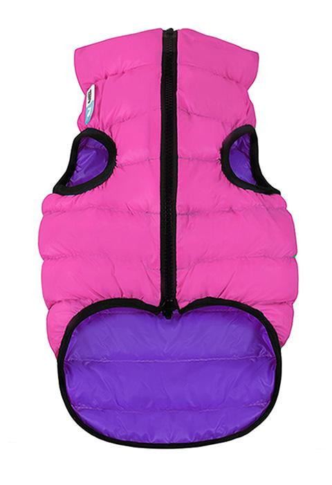 Куртка для собак Collar AiryVest двусторонняя розово-фиолетовая (xs25) куртка для собак collar airyvest двусторонняя розово фиолетовая xs25