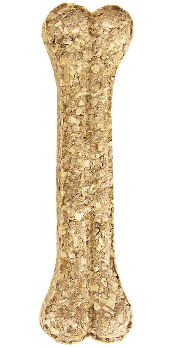 Лакомство Triol Dental для собак кость прессованная натуральная 20 см 10 шт (1 шт)