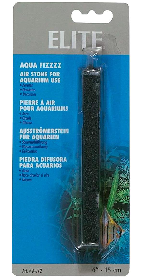 Распылитель воздуха Hagen Elite камень трапециевидный черный 15 см (1 шт)