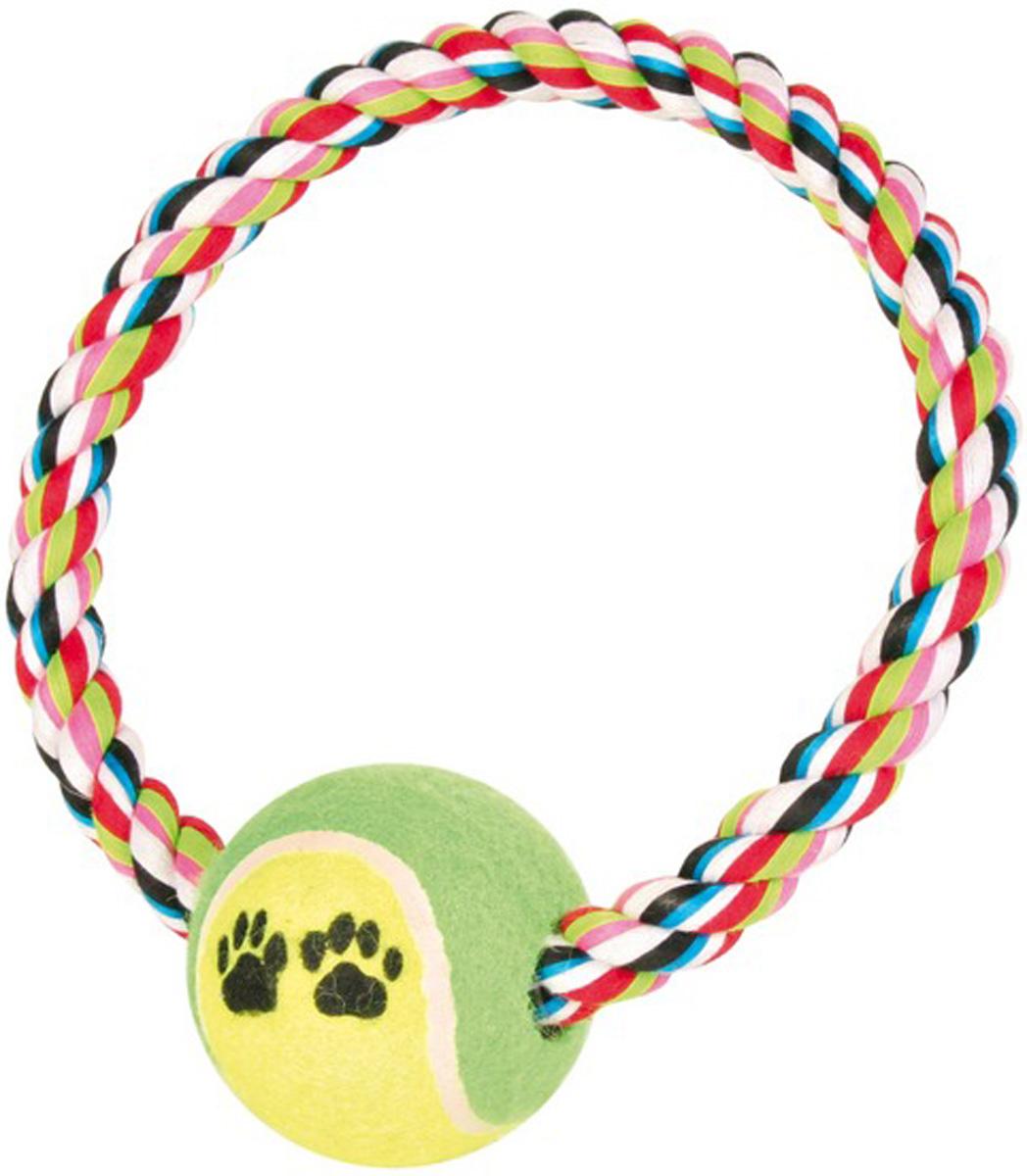 Игрушка для собак Trixie Грейфер с мячом 18 см 6 см (1 шт)