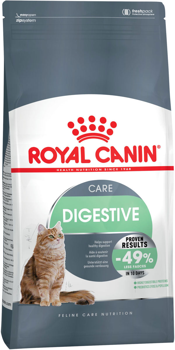 Royal Canin Digestive Care для взрослых кошек при аллергии (2 кг х 3 шт)