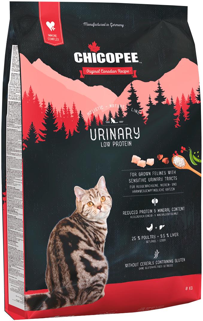 Chicopee Holistic Nature Line Cat Adult Urinary для взрослых кошек при мочекаменной болезни (8 кг)