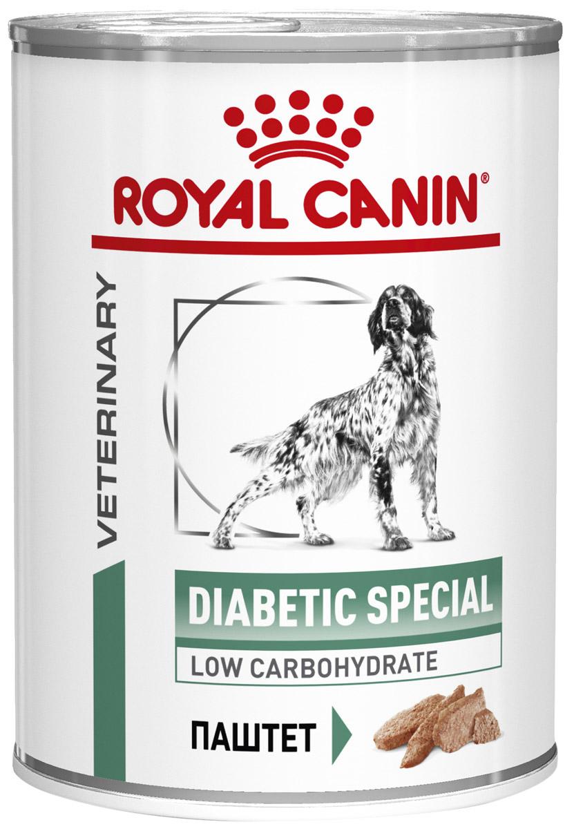 Royal Canin Diabetic Special для взрослых собак при сахарном диабете (410 гр х 12 шт)