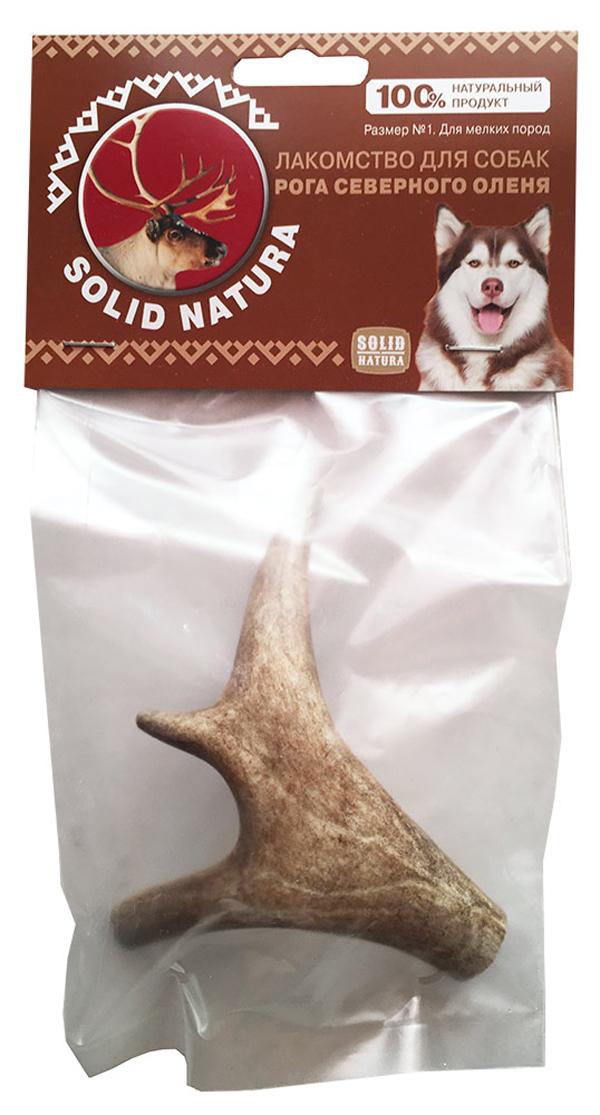 Лакомство Solid Natura для собак рога северного оленя № 1 (1 уп)