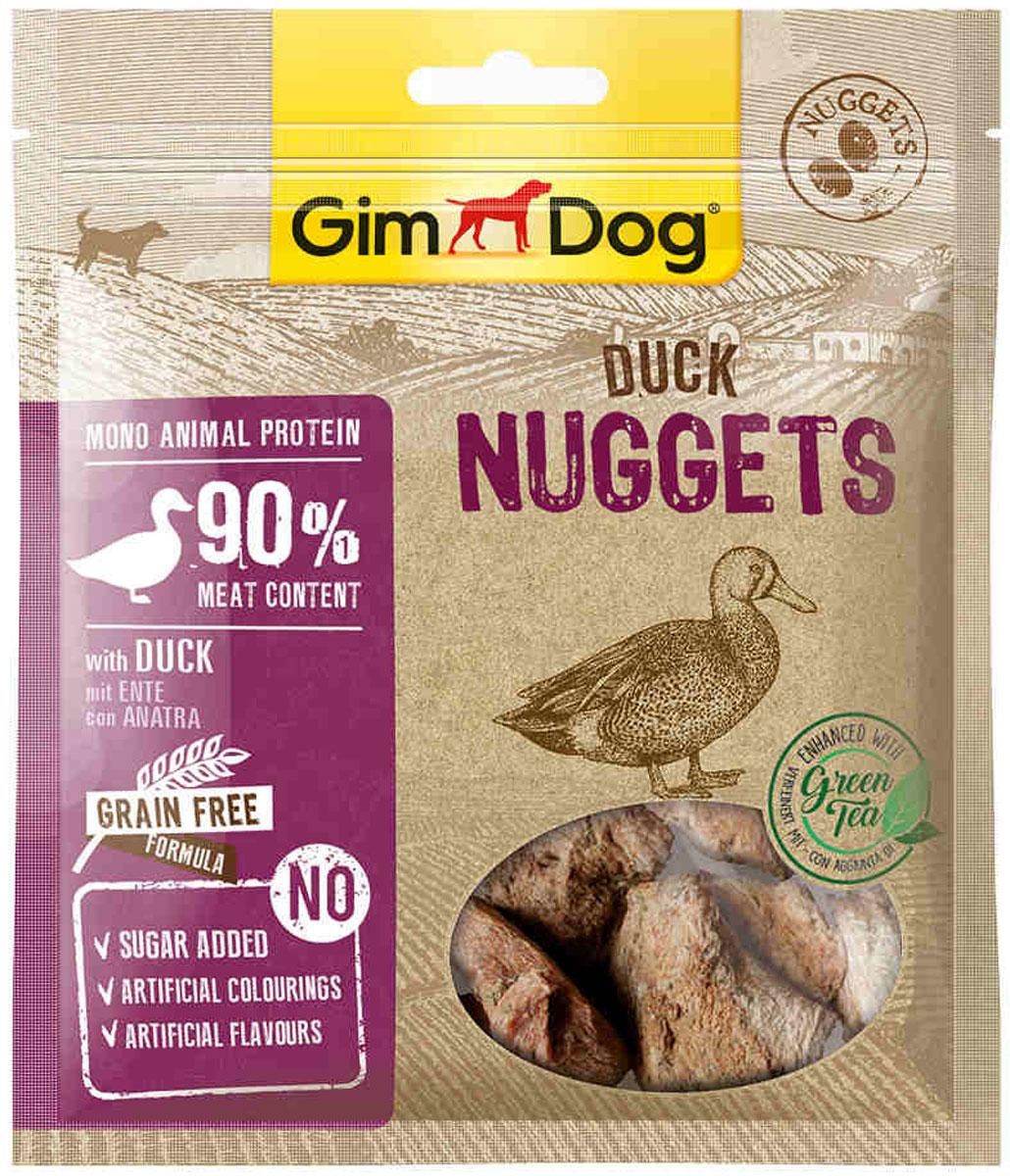 Лакомство GimDog для собак наггетсы с уткой (55 гр)