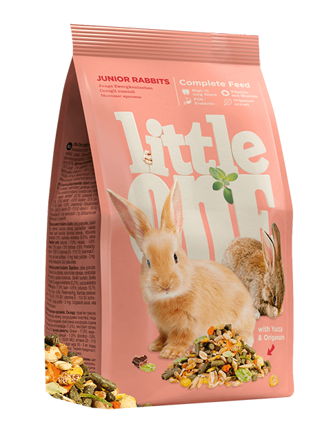 Фото - Little One Junior Rabbits корм для молодых кроликов (900 гр) little one little one корм для кроликов 900 г