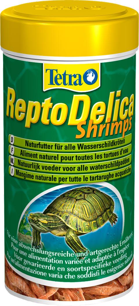 Tetra Reptodelica Shrimps – Тетра корм-лакомство для всех видов черепах Креветки (1 л) фото