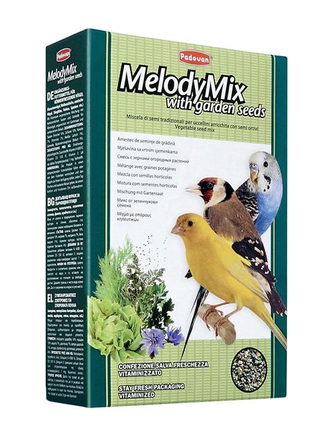 Padovan Melodymix — Падован дополнительный корм для декоративных птиц для пения (300 гр) фото