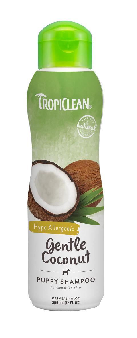 Tropiclean Puppy Shampoo Gentle Coconut – Тропиклин шампунь гипоаллергенный для щенков и котят Кокос (355 мл)