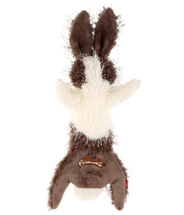 Игрушка-шкурка для собак GiGwi Plush Friendz Заяц с пищалкой 47 см (1 шт)