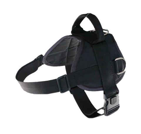 Шлейка нейлоновая стандартная с пластмассовым фастексом H-001 S черная (1 шт)