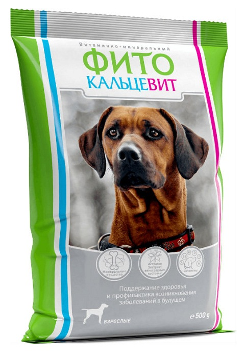 фитокальцевит для собак (500 гр)