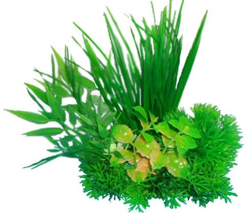 Композиция из пластиковых растений 15 см Prime Pr-m622 (1 шт) 0 pr на 100