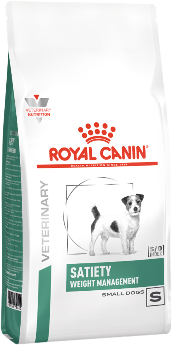 Royal Canin Satiety Weight Management Small Dog S для взрослых собак маленьких пород контроль веса (3 кг) royal canin satiety weight management small dog s для взрослых собак маленьких пород контроль веса 3 кг