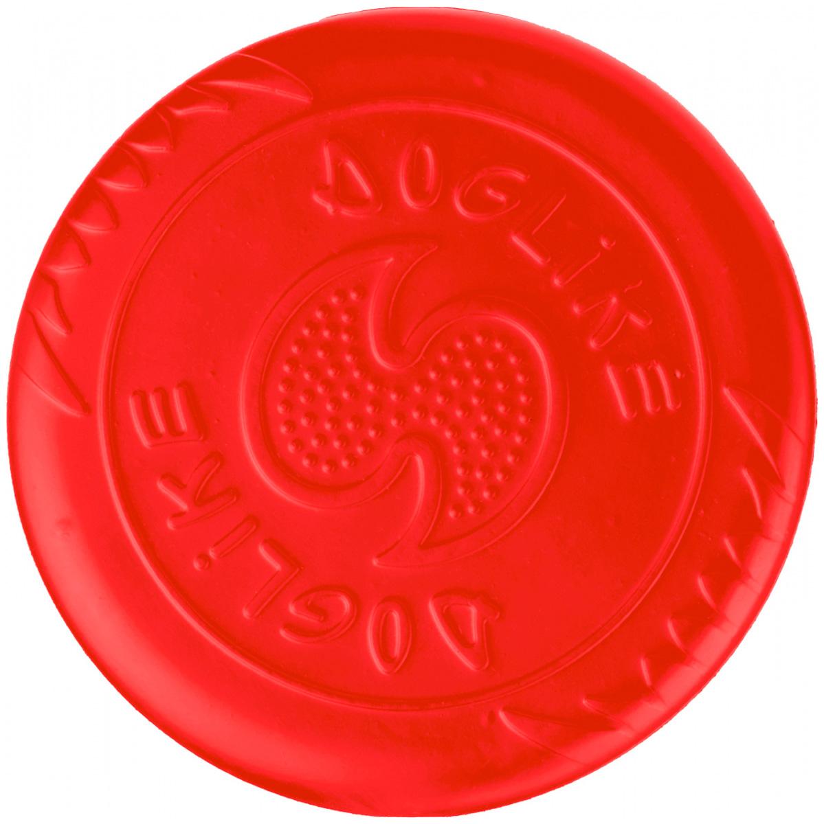 Летающая тарелка для собак большая Doglike коралловая (1 шт)