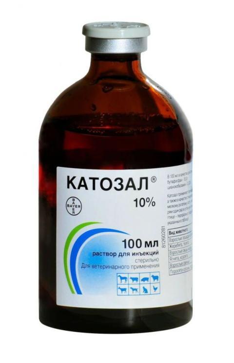 катозал 10% препарат для стимуляции обменных процессов (р-р для инъекций) (100 мл)