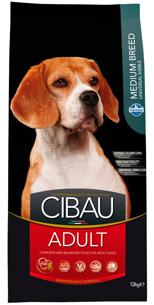 Cibau Adult Medium для взрослых собак средних пород с курицей (2,5 кг)