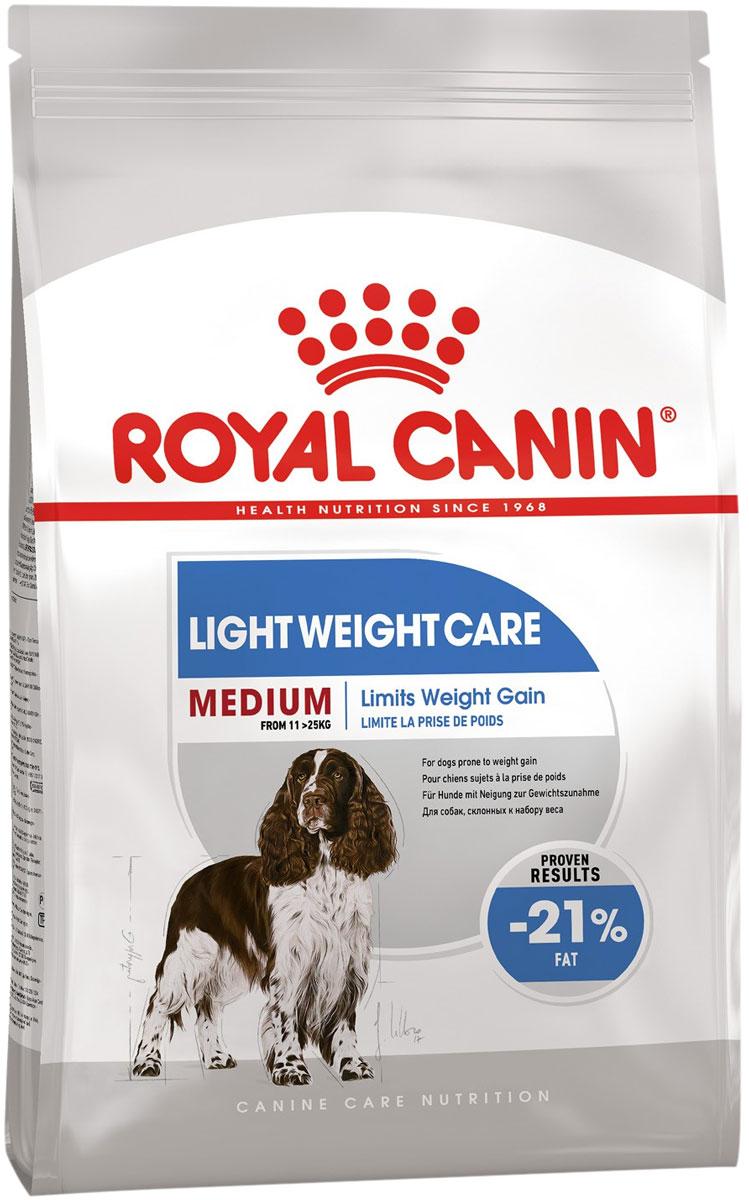 Royal Canin Medium Light Weight Care диетический для взрослых собак средних пород (3 кг)