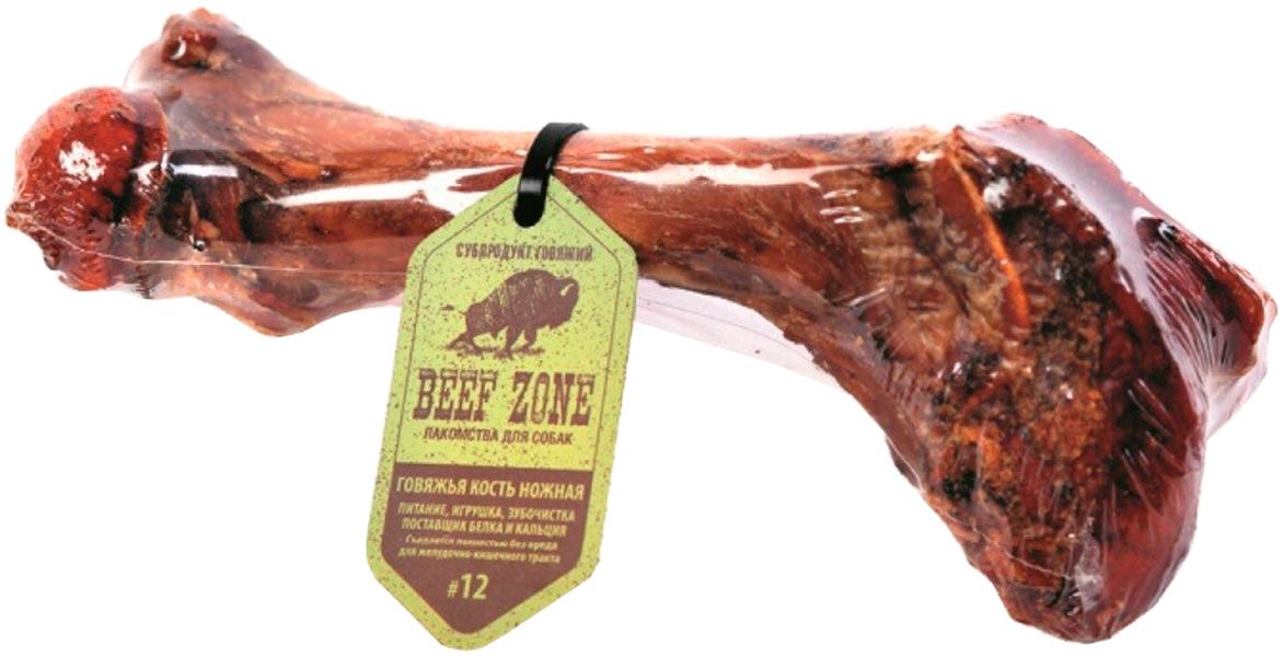 Лакомство Green Qzin Beef Zone № 12 для собак всех пород кость говяжья ножная (1 шт)
