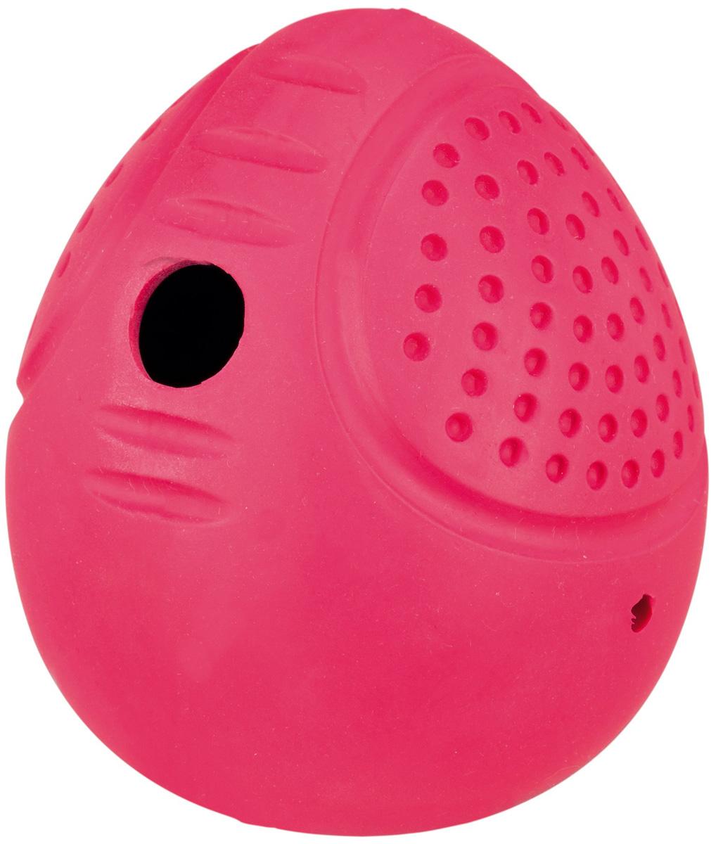 Игрушка для собак Trixie яйцо Roly Poly для лакомств 8 см (1 шт)