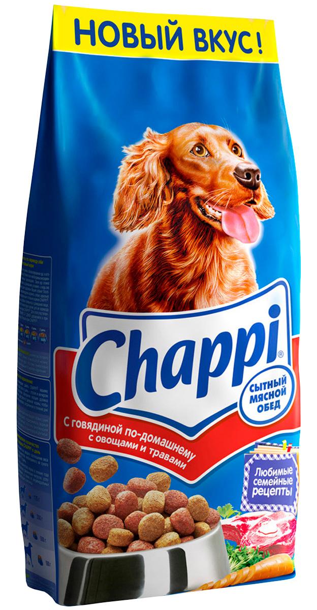 Chappi говядина по-домашнему для взрослых собак всех пород (15 кг) фото