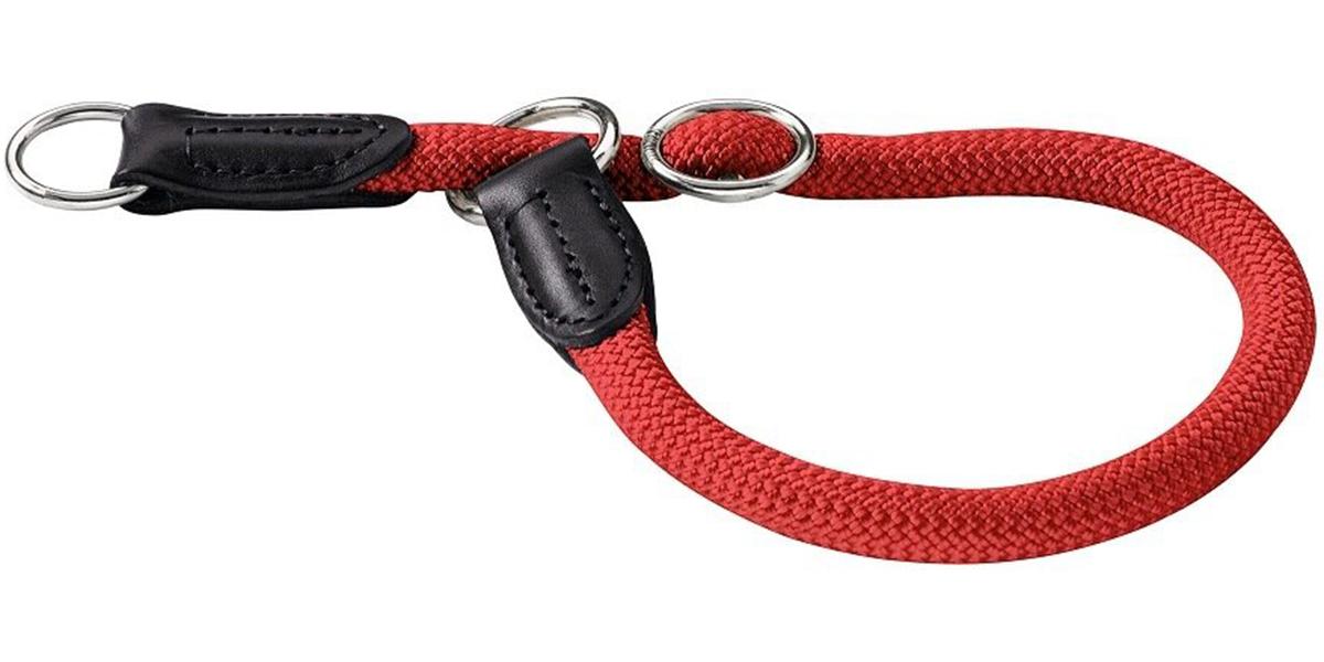 Ошейник удавка для собак Hunter Freestyle 35/8 круглый нейлон красный (1 шт) фото