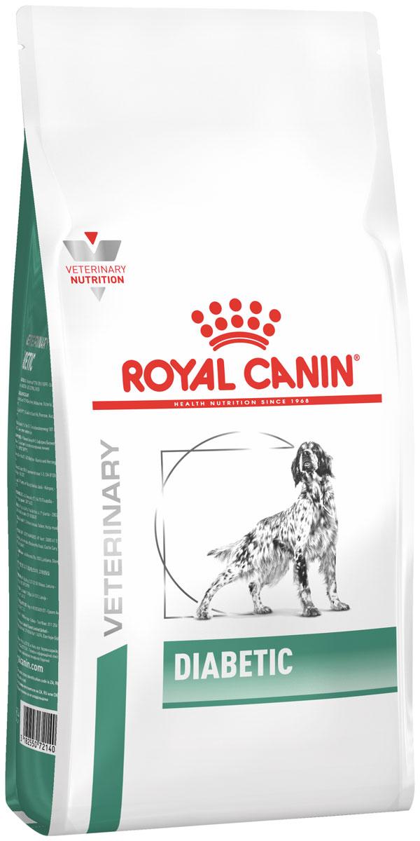 Royal Canin Diabetic для взрослых собак при сахарном диабете (12 + 12 кг)