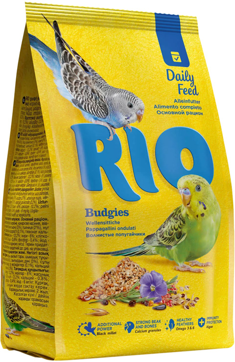 Rio Budgies корм для волнистых попугаев (1 кг)