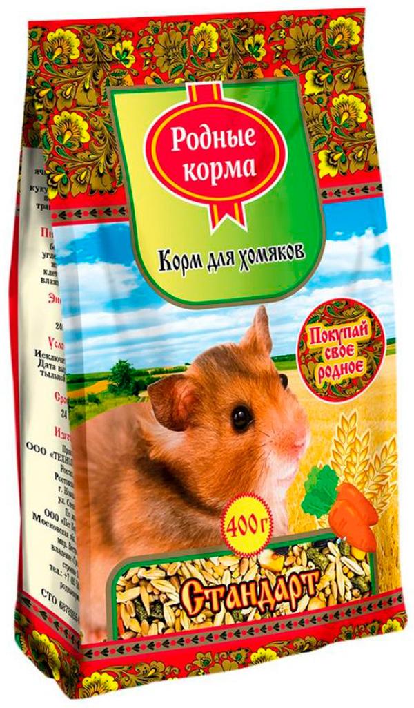 родные корма корм для хомяков стандарт (400 г)
