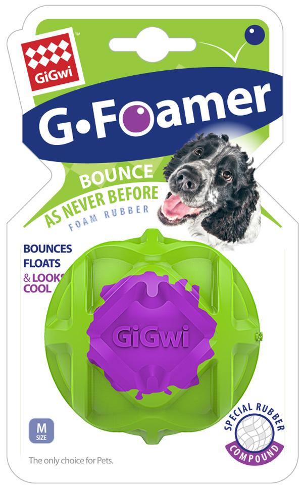 Игрушка для собак GiGwi G-Foamer Мячик полнотелый 6,5 см (1 шт)