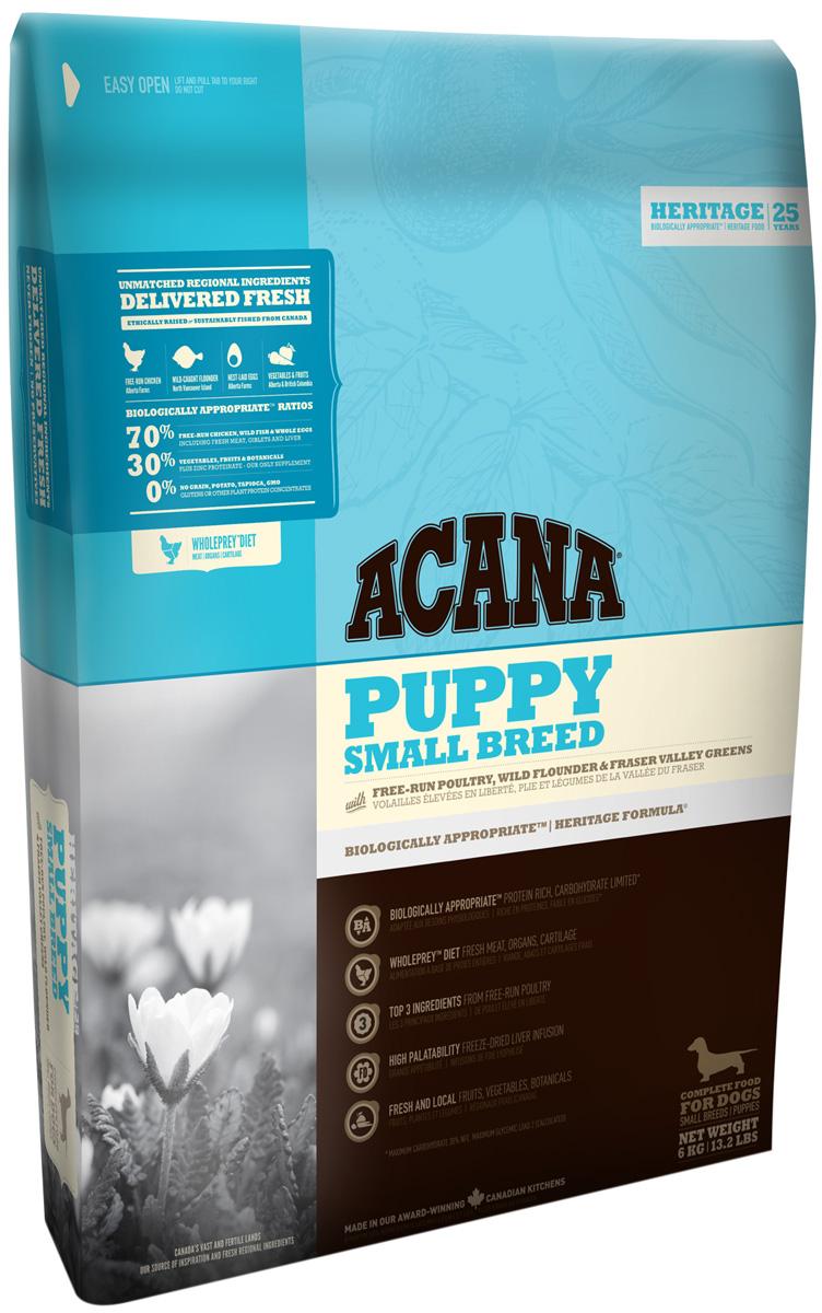 Acana Puppy Small Breed для щенков маленьких пород (6 кг)