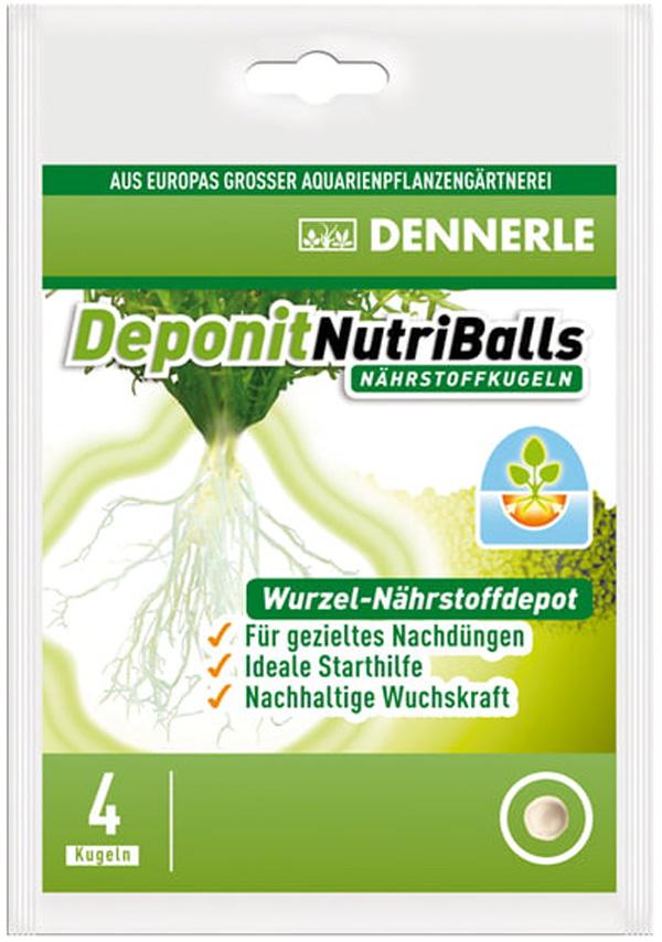 Добавка профессиональная грунтовая Dennerle Nutriballs (уп.4 таблетки) (1 уп) фото