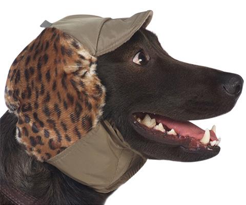 Тузик шапка для собак теплая с велюром