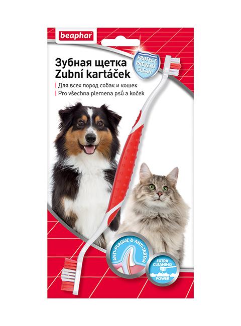 Beaphar Toothbrush – Беафар зубная щетка двойная для собак всех пород (1 шт)