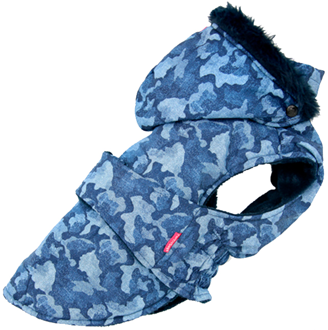 For My Dogs попона для собак синяя Fw784-2019 (14)