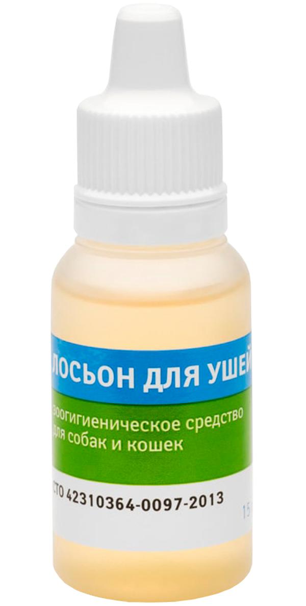 Veda лосьон для ушей для собак и кошек с фитокомплексом (15 гр ).