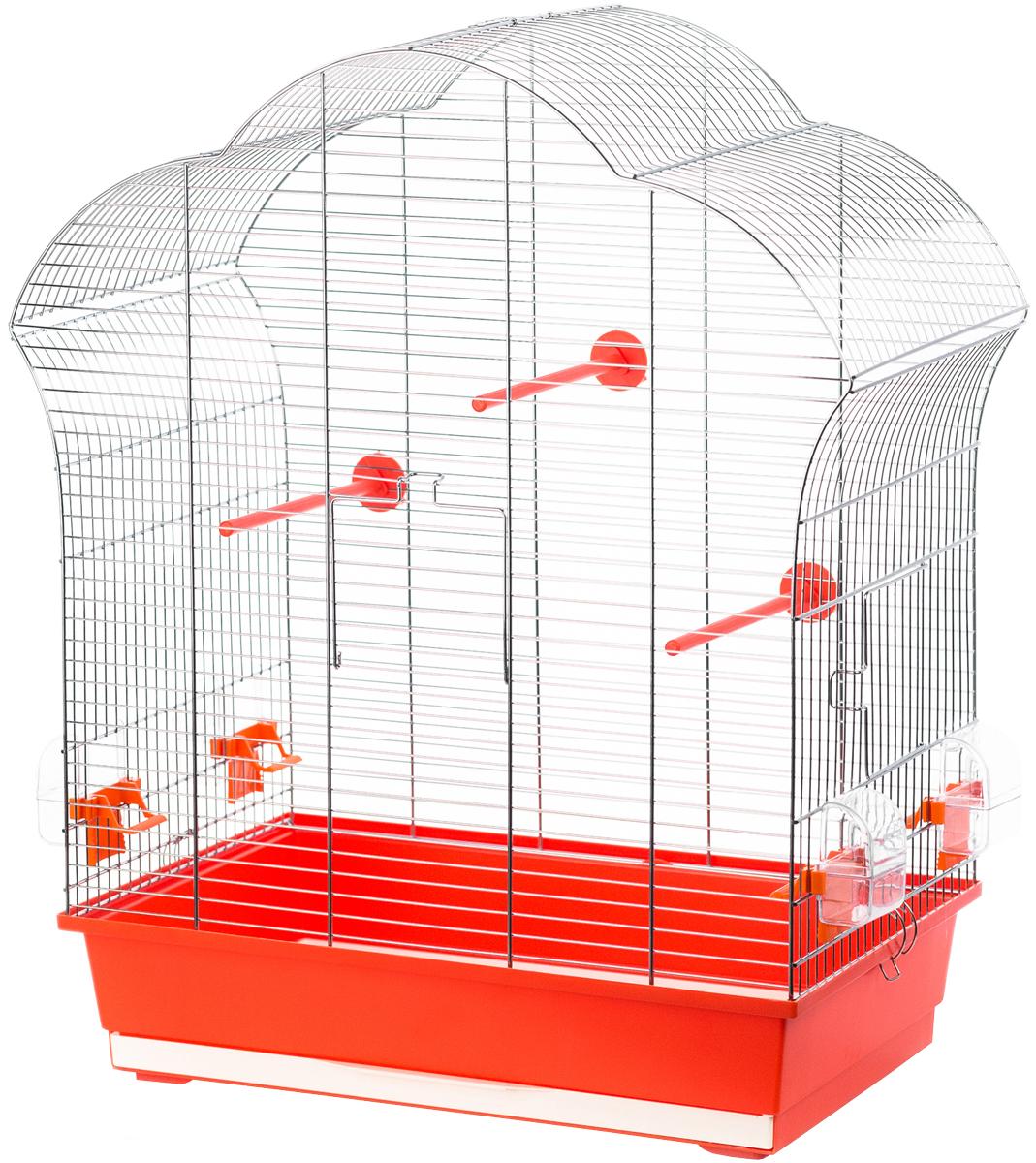 Клетка для птиц Inter-Zoo P304 Laura Iii оцинкованная 60,5 х 34 х 71,5 см (1 шт) фото