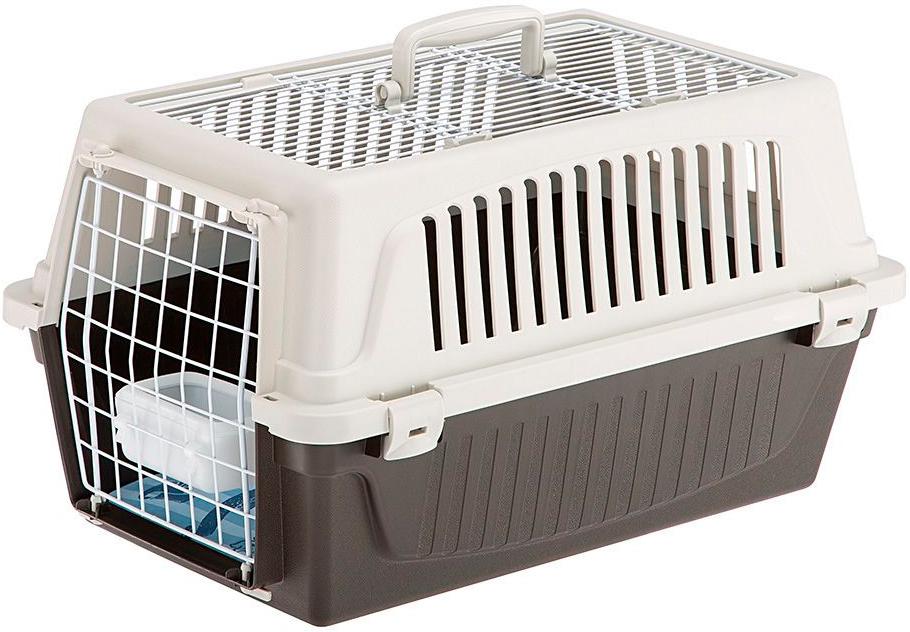 Переноска открытая Ferplast Atlas 20 Open для мелких собак и кошек 58х37х32 см (1 шт) переноска ferplast atlas 20 el для мелких собак и кошек 58х37х32 см бюджет 1 шт