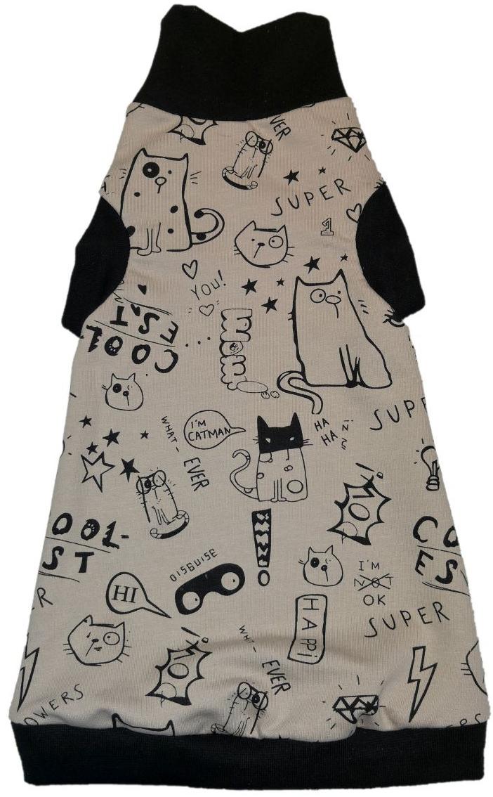 Osso Fashion водолазка для кошек Веселые коты (l)
