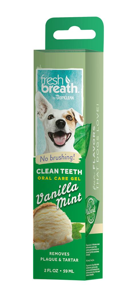 Tropiclean Fresh Breath Gel Vanilla Mint гель