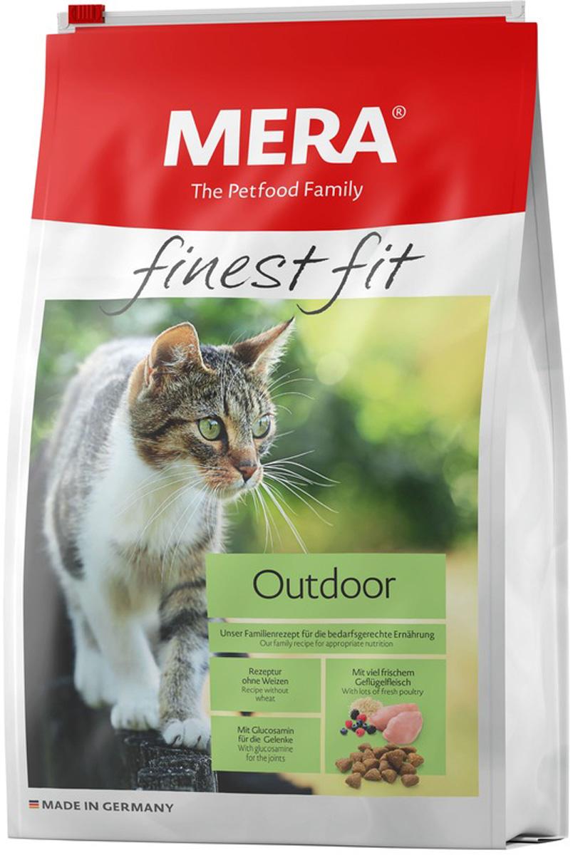 Mera Finest Fit Cat Outdoor для активных взрослых кошек с птицей (10 кг)