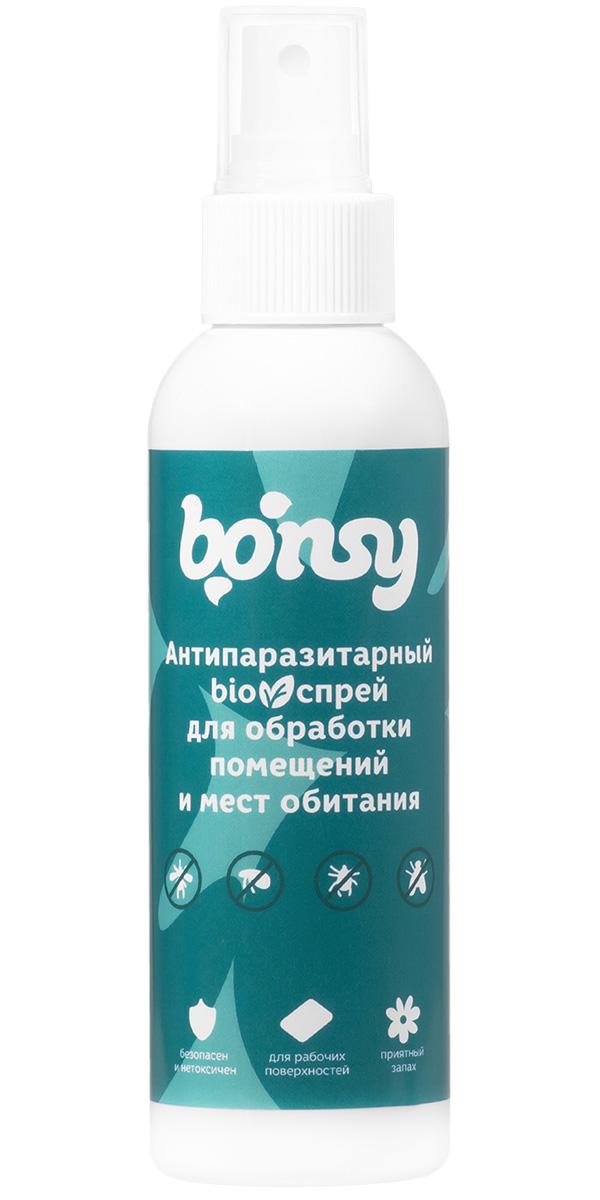 Bonsy BIOспрей антипаразитарный для обработки мест обитания собак и кошек 150 мл (1 шт)