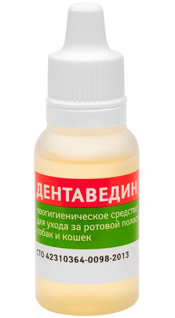 дентаведин гель для собак и кошек для ухода за полостью рта (15 гр).