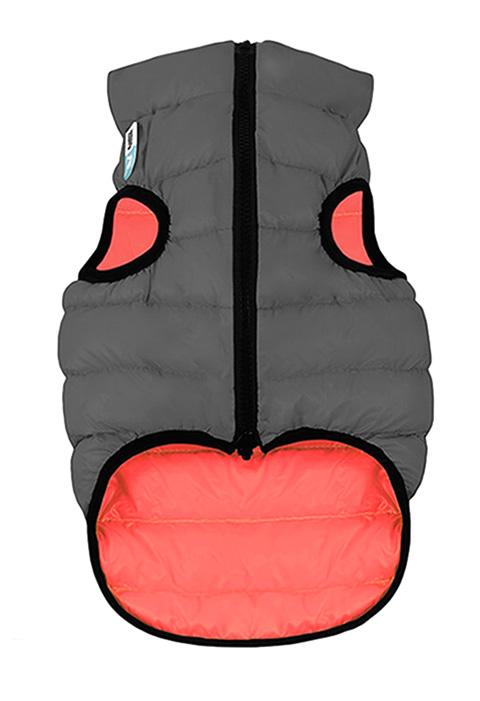 Куртка для собак Collar AiryVest двусторонняя кораллово-серая (xs30)