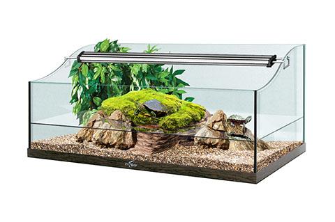 Террариум Биодизайн Turt-House Aqua 70 настольный для водных черепах (1 шт) фото