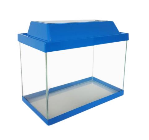 Аквариум Классика 37 литров синий (1 шт) фото