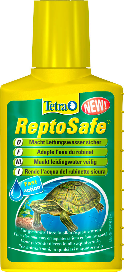 Фото - Tetra Reptosafe – Тетра средство для подготовки водопроводной воды в террариумах (100 мл) tetra torumin средство для подготовки водопроводной воды 250 мл
