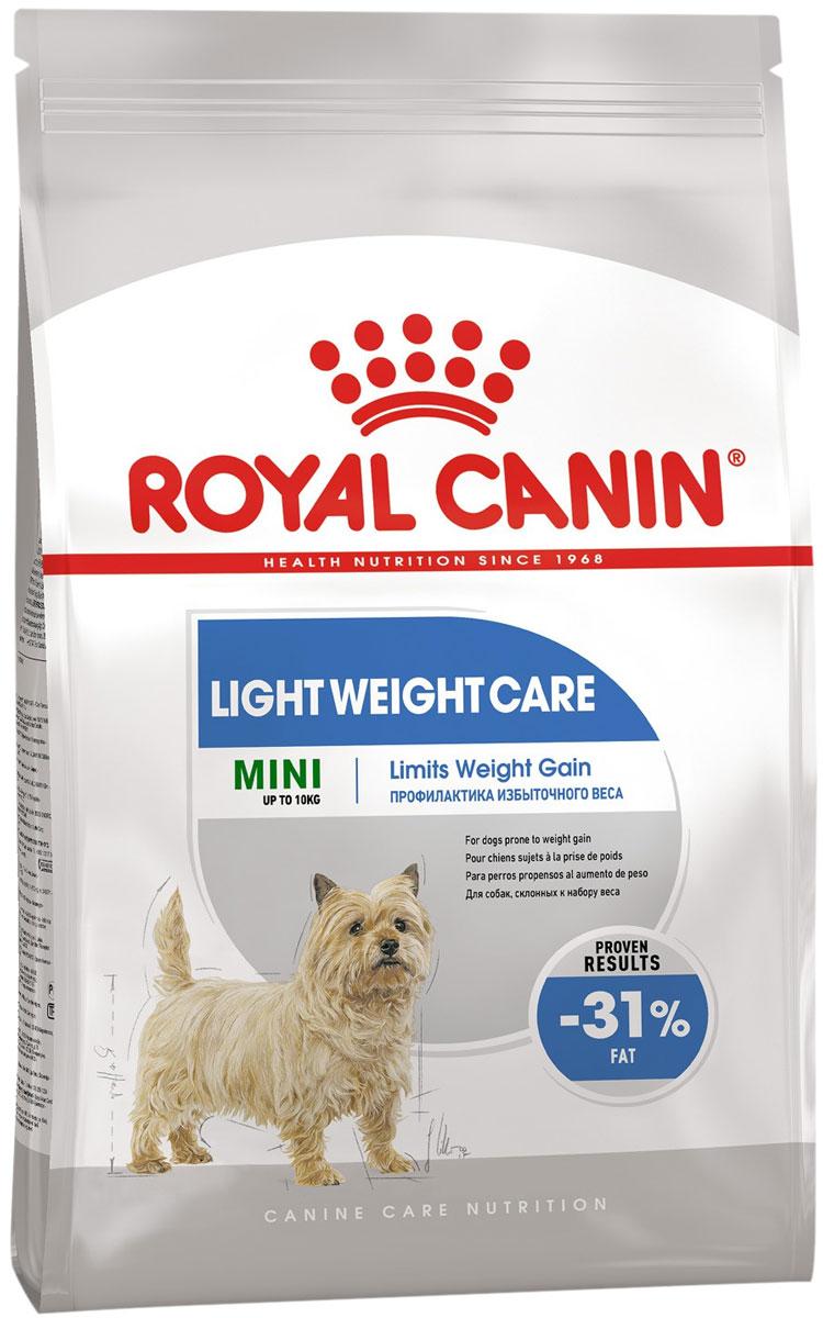 Royal Canin Mini Light Weight Care диетический для взрослых собак маленьких пород (3 кг) royal canin satiety weight management small dog s для взрослых собак маленьких пород контроль веса 3 кг